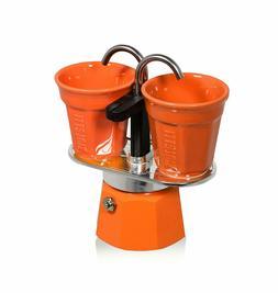 Bialetti 0006191 Coffee Maker Italian Set Mini Express 2 Cup