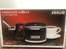 Bunn 10 Cup 50 oz Coffee Decanter Carafe NCD - New .