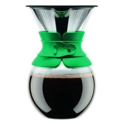 Bodum 11571-159 Pour Over Coffee Maker with Permanent 34 oz.