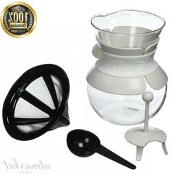 BODUM 11592-913 POUR OVER Drip coffee maker with stainless s