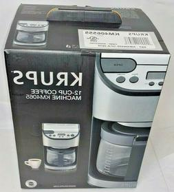 Krups 12 Cup Stainless Steel Coffee Maker Machine KM4065