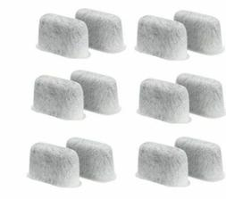 12 Replacement Charcoal Water Filters For Cuisinart Coffee M