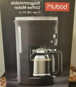 Bodum 12Cups Maker Programmable Coffee Machine w/Borosilicat
