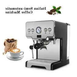 15 Bar Espresso Machine Maker Cappuccino Semi-Automatic Coff