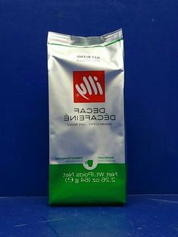 Illy Decaf Ground Coffee 100% Arabica 2.26 oz Each Exp: 10/