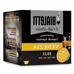 160 Capsules Aluminium Bialetti Mokespresso I Caffe' of Ital