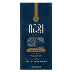 Folgers 1850 Black Gold Dark Roast Whole Bean Coffee