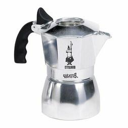 Bialetti Brikka Aluminum Stovetop Espresso Maker, 2 Cup