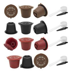 3pcs Refillable Reusable Coffee Capsule Filters for Nespress