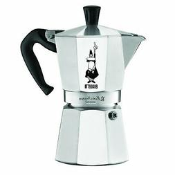 Bialetti 6 Cup Moka Express Espresso Maker - Aluminum Stovet