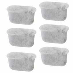 6-Pack Replacement Charcoal Water Filters for Cuisinart Coff