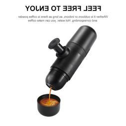 70ML Mini Hand Press Portable Espresso Coffee Maker Capsule