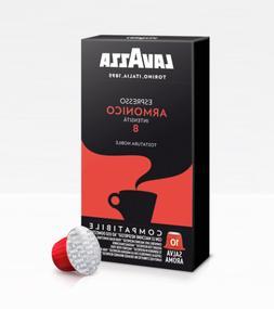 80 coffee capsules LAVAZZA Armonico compatible with machines