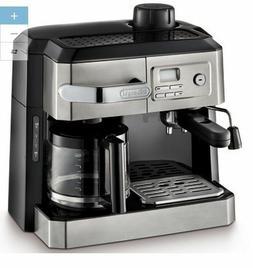 """DELONGHI BCO330T and Espresso Machine 24"""" x 14"""" x 14"""" Black/"""