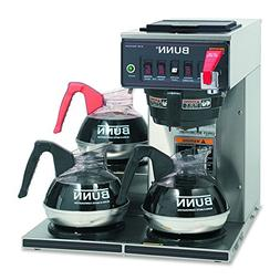 Automatic Coffee Brewer, 12 Cup, 3 Lower Warmers BUNN CWTF 1
