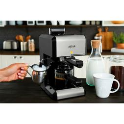 Automatic Espresso and Cappuccino Machine Maker Caf 20-Ounce