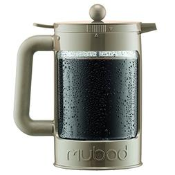 Bodum Bean Set Ice Coffee Maker 12 Cup/51oz Sand, New