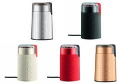 Bodum Bistro Electric Blade Coffee Grinders, 5 Colors
