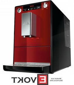 Melitta Caffeo Solo Automatic Coffee Machine Chilli-Red 1400