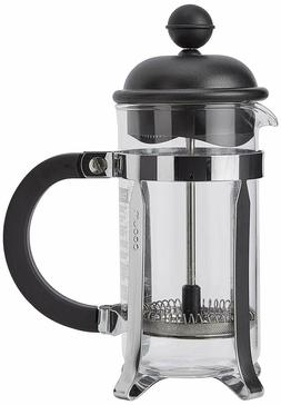 Bodum Caffettiera French Press Coffee Maker, Black Plastic L