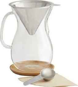 Caribou 8 Cup Pour Over Coffee Brewer by Caribou Coffee