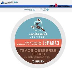 Caribou Caramel Espresso Roast Keurig Coffee k-cups for spec