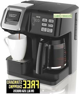 Hamilton Beach 49976 FlexBrew Coffee Maker Single Serve & Fu