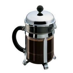 Bodum Chambord 1924 4 Cups Coffee Maker - Silver