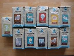 Caribou Coffee 12 oz Bags of Ground and Whole Bean Coffee Yo