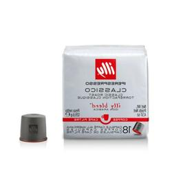 Illy Coffee iper Coffee Capsule Cube, Classico, Medium Roast