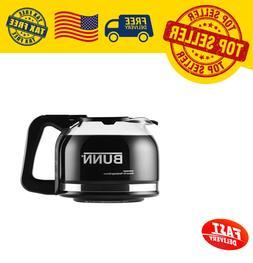 Bunn Coffee Maker 10 Cup Black Replacement Decanter Pot Cara