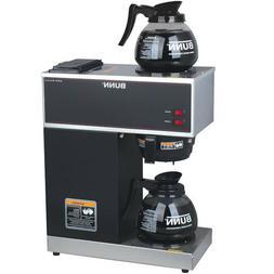 Coffee Maker 12 Cup BUNN Pourover Brewer Machine 2 Warmer Co