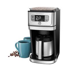 Coffee Maker Machine Burr Grind & Brew 10 Cup Thermal Carafe