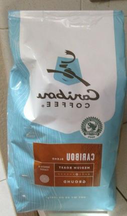 CARIBOU COFFEE, MEDIUM ROAST, GROUND COFFEE,  20 OZ. BAG  ~F