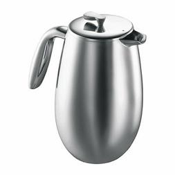 Bodum Columbia Double-Wall 12Cup French Press Coffee Maker P