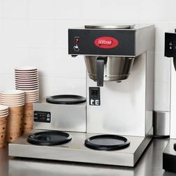 commercial coffee maker machine 3 pot warmer