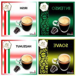 100 Capsules Compatible Nespresso Machines ARABICA,SOAVE,DEL