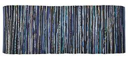 DII Contemporary Reversible Area Runner Rug for Bedroom, Liv