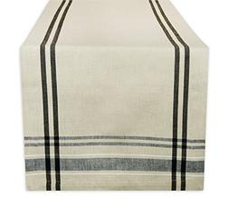DII 100% Cotton, Machine Washable, Everyday French Stripe Ki