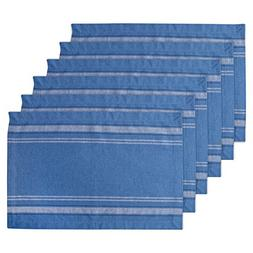 DII 100% Cotton, Machine Washable, Everyday French Stripe Pl