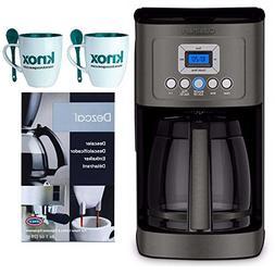 Cuisinart DCC-3200BKS Perfectemp Coffee Maker, Black Bundle