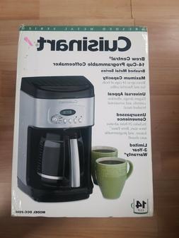 Cuisinart DCC 2200 Brew Central Coffee Machine Black *FREE S