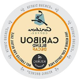 Caribou Coffee Caribou Decaf Blend, K-Cups for Keurig Brewer