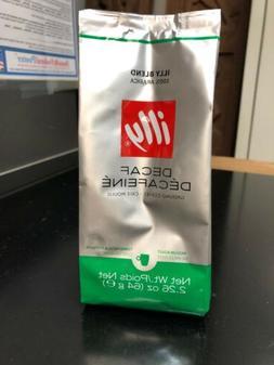 Illy Decaf Ground Coffee 100% Arabica 2.26 oz Each Exp: 1/20