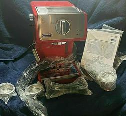 DeLonghi Espresso Coffee Machine Cappuccino Latte15 Bar Brew