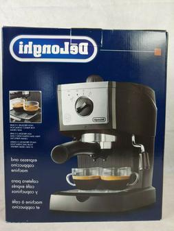 DeLonghi Espresso Machine & Cappuccino Maker Black Model EC1