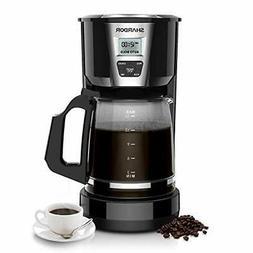 Drip Coffee Maker, 12-15 Cup Programmable Brew Coffee Machin