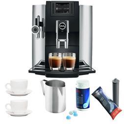 Jura E8 Espresso Coffee Machine w/ Cleaning Tablets & Filter