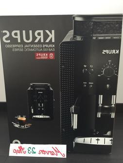 Krups EA 8108 fully automatic Espresso coffee machine black,