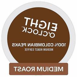 Eight O'Clock Coffee 100% Colombian Peaks, Single Serve Coff